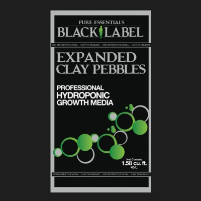 Pure Essentials Black Label™ Expanded Clay Pebbles